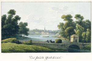 The Priory Palace in Gatchina, before 1817 by Andrei Yefimovich Martynov