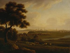 View of Kazan, 1816 by Andrei Yefimovich Martynov