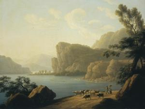 View of the Selenga River in Siberia, 1817 by Andrei Yefimovich Martynov