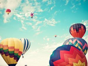 Colorful Hot Air Balloons by Andrekart Photography