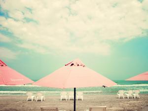 Retro Pastel Beach by Andrekart Photography