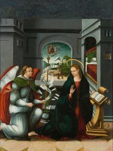 The Annunciation by Andrés de Melgar