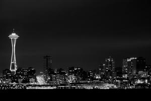 Belltown & Space Needle by Andrew A Smith