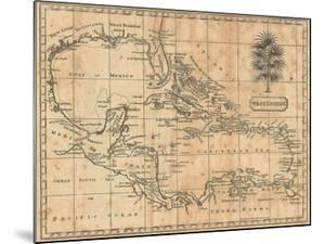 Caribbean, 1806 by Andrew Arrowsmith