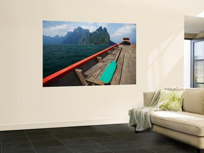 Long-Tail Boat on Cheow Lan Lake
