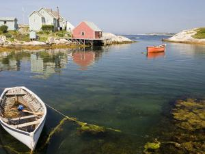 Peggy's Cove Harbour by Andrew Bain