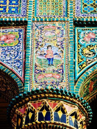 Tiled Column, Qajar-Era Hospital