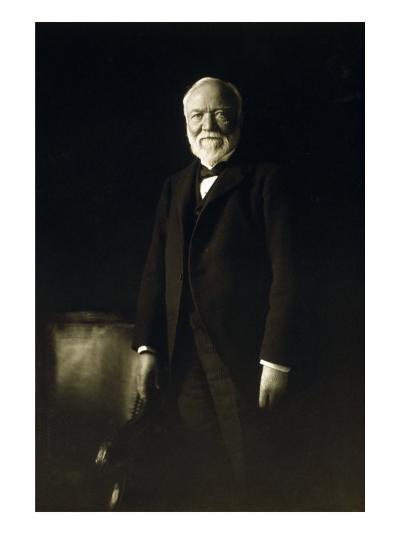 Andrew Carnegie, April 5, 1913--Photo