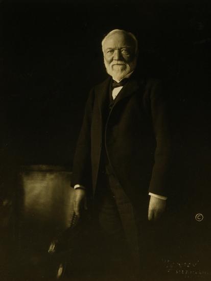 Andrew Carnegie-Theodore C. Marceau-Giclee Print