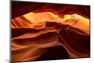 A sandstone abstract at the Upper Antelope Canyon. by Andrew Coleman