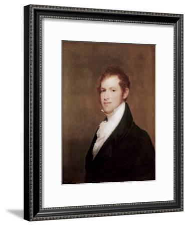 Andrew Dexter, Founder of Montgomery, Alabama-Thomas Sully-Framed Giclee Print