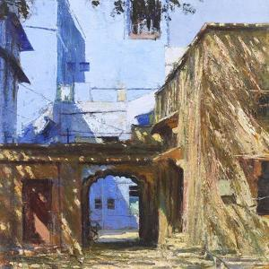 Archway, Jodphur, 2017 by Andrew Gifford