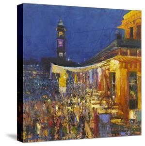 Chai Cafe in Clock Tower Square, Jodphur, 2017 by Andrew Gifford