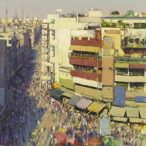 Paharganj Bazaar, Delhi, 2017 by Andrew Gifford