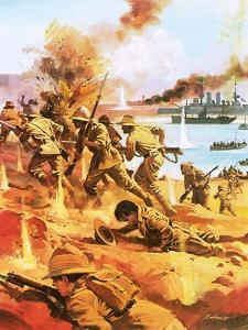 Gallipoli Invasion by Andrew Howat