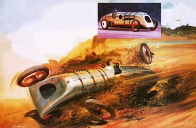 Parry Thomas's Attempt to Regain the Land Speed Record