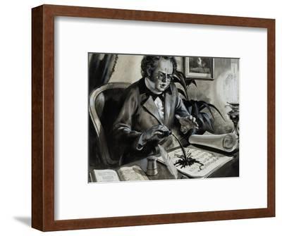 Portrait of Franz Schubert