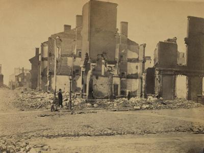 Ruins in Richmond, Virginia, c.1865
