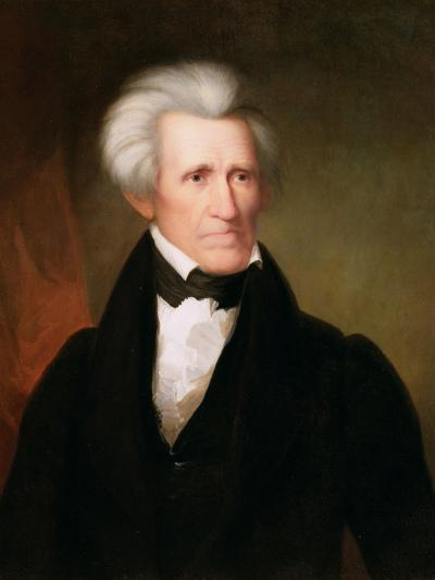Andrew Jackson, 1835-Asher Brown Durand-Giclee Print