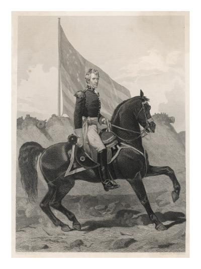 Andrew Jackson 7th President of the United States--Giclee Print