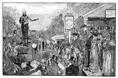 Andrew Jackson, 7th President of the USA, Washington, USA, 1828--Giclee Print