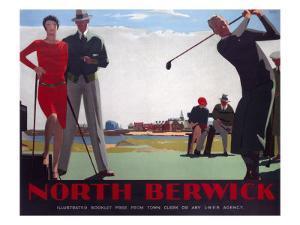 North Berwick, LNER Poster, 1923-1947 by Andrew Johnson