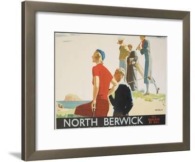 North Berwick Poster