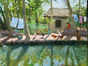 Backwaters, India by Andrew Macara
