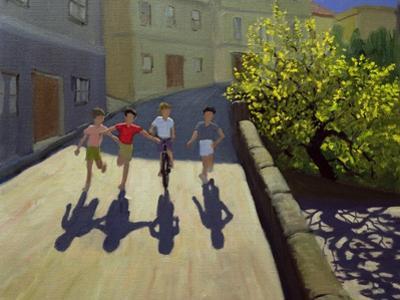 Children Running, Lesbos, 1999
