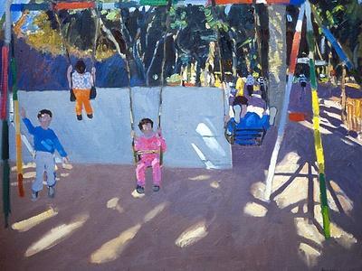 Children Swinging, 1996
