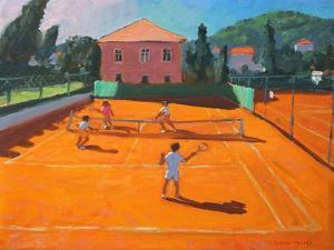 Clay Court Tennis, Lapad, Croatia, 2012 by Andrew Macara