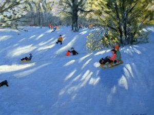 Early Snow, Darley Park, Derby by Andrew Macara