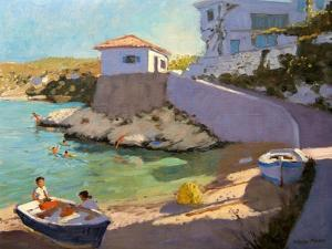 Fishing Nets, Samos, 2005 by Andrew Macara