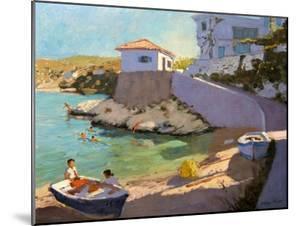 Fishing Nets, Samos, 2005 by Andrew Macara