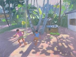Football, Bentota, Sri Lanka, 1998 by Andrew Macara