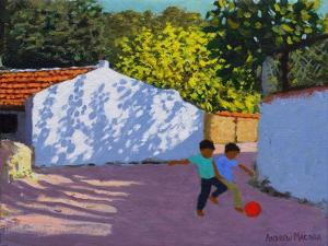 Football in Bodrum, 2018 by Andrew Macara