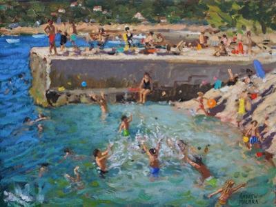 Fun in the Sea, Rovinj, Croatia, 2016 by Andrew Macara