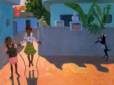 Girl Skipping, 1995 by Andrew Macara