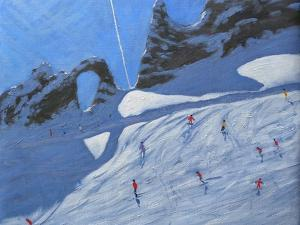L'Aiguille Percee, Tignes, 2009 by Andrew Macara