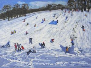 Large Snowman, Chatsworth, 2012 by Andrew Macara