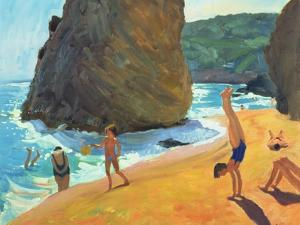 Morning, Platja Dos Rosais, Costa Brava, 1997 by Andrew Macara