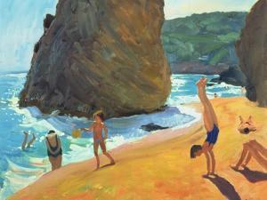 Morning, Platja Dos Rosais, Costa Brava, 1997 by Andrew Macara