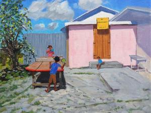Ping Pong,De African Queen Hideaway, Barbados, 2012 by Andrew Macara
