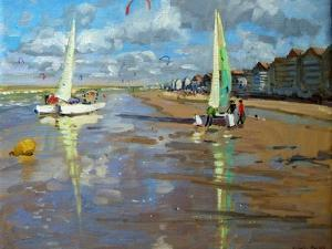 Reflection, Bray Dunes, France by Andrew Macara