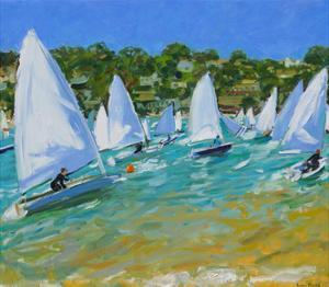 Sailboat Race by Andrew Macara