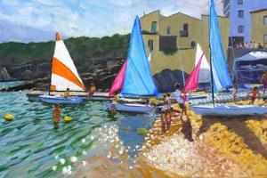 Sailing School, Calella De Palafrugall, Costa Brava, Spain, 2014 by Andrew Macara