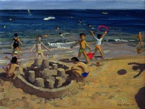 Sandcastle, France, 1999 by Andrew Macara