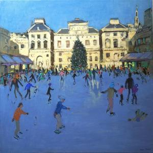 Skaters, Somerset House, 2012 by Andrew Macara