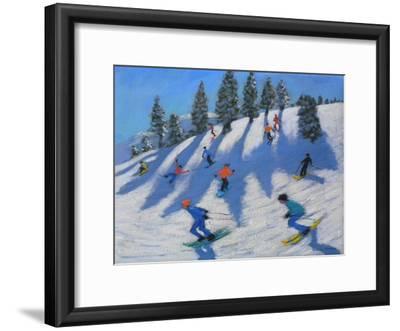 Skiers, Lofer, 2010