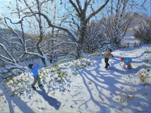 Snowball Fight, 2007 by Andrew Macara